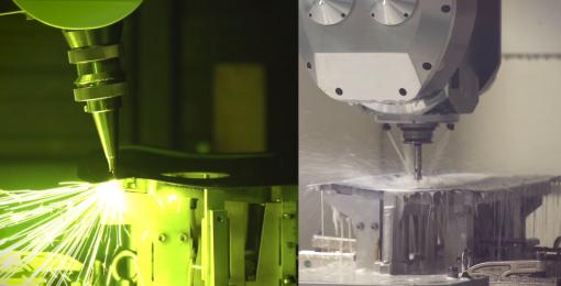 Détourage laser et perçage mécanique (MANTiS)